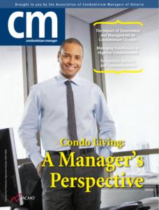 Condominium Manager magazine feature