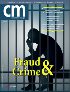 Fraud and crime in condo corporations