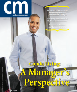 Condominium Manager magazine feature